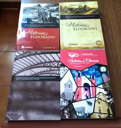 Libros Junta de estudios históricos del Municipio de Eldorado
